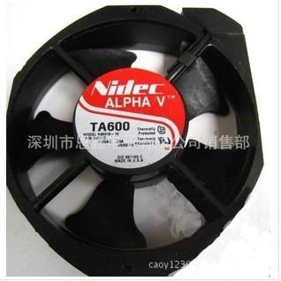 Оригинальный охлаждающий вентилятор NIDEC AC 17 см TA600 A30318 10 115В 0.35A гарантия качества кулер для процессора радиатор осевой вентилятор охлаждени