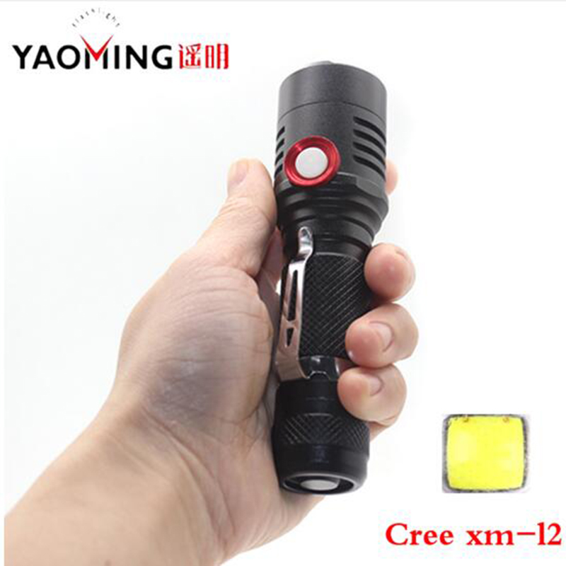 все цены на LED Rechargeable Flashlight CREE XM-L2 U2 Light 3800 lumens 18650 Battery Outdoor Camping Cycling Powerful USB led flashlight онлайн