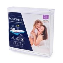 Forcheer, cubierta de colchón, almohadilla de colchón impermeable, cubierta de cama antipolvo, cubierta de cama con elástico