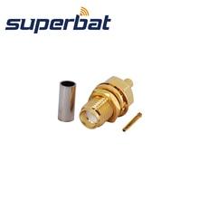 Rf-Coaxial-Connector Lmr100-Cable Superbat RG316 for RG-174 SMA Crimp-Jack Bulkhead