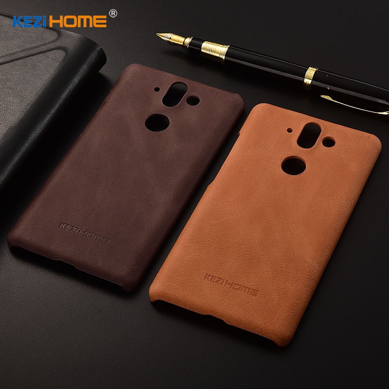for Nokia 8 Sirocco case KEZiHOME Frosted Genuine Leather Hard Back Cover capa For Nokia 8 Sirocco Phone Protector cases coque