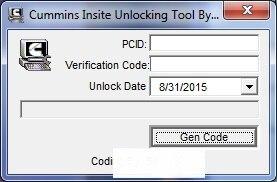 ФОТО New forCummins Insite Date unlock proramm