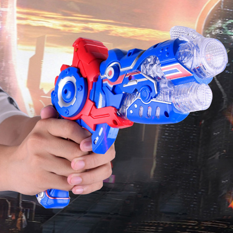 Abbyfrank 2 In 1 Gun And Sword Outdoor Interactive Game Toys Deformation Simulation Flashing Musical Gun Srma De Brinquedo