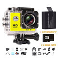 Goldfox 1080 p full hd 12mp cámara de acción sj4000 wifi para ir a prueba de agua pro Cámara Del Deporte de 1080 P HD kamera sj 4000 mini cámara DV