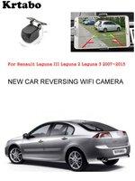 Автомобильная беспроводная камера заднего вида для Renault Laguna III Laguna 2 Laguna 3 2007 ~ 2015 Автомобильная hd-камера CCD ночного видения Водонепроницаемая ...