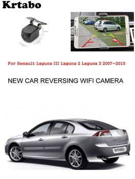 Car wireless rear camera For Renault Laguna III Laguna 2 Laguna 3 2007~2015 car HD cam CCD night vision waterproof high qualit фото
