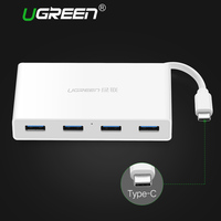 Ugreen USB Type C 3 0 4 Ports HUB With Led Indicator USB Type C Splitter