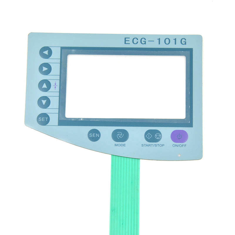 New Biocare ECG-101G Membrane Film for Panel repair ,FAST SHIPPING цены