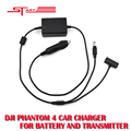 Newest Intelligent Car Charger 17.5V 4A Phantom4 Outdoor Charging Accessories for DJI Phantom 4 Fast Shipping