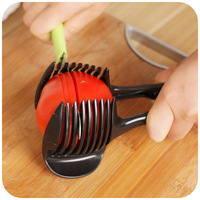 Plastic Kitchenware Tomato Slicer Fruit Tomato Slicer Lemon Slices Clip