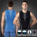 Free Shipping Mens body Shapers Comfortable Breathable Quick-Drying Garment With Spandex Short Sleeves Shaperwear