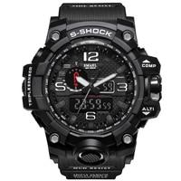 Men Military G Style Watch 50m Waterproof Wristwatch LED Quartz Clock Watch Male relogios masculino S Shock Sport Watches Men
