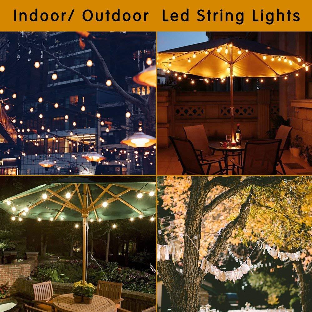 Купить с кэшбэком GANRILAND LED 12V-24V DC AC 1W E26 E27 COB Filament Light Bulb G40 Warm White 2700K LED Lamp Low Voltage Retro Edison 12V Bulbs