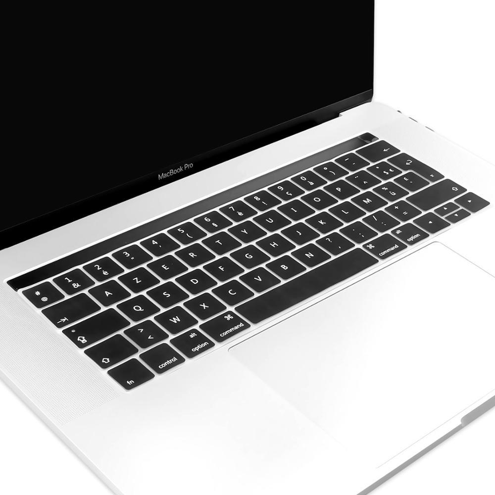 Prancūzijos AZERTY silikono klaviatūros viršelis odai Macbook Pro - Nešiojamų kompiuterių priedai - Nuotrauka 2