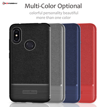 цена Coque On Case For Xiaomi Redmi Note 6 Pro Cases Xiomi Redmi Note 6 Pro Cover Leather Silicone Black Luxury Ksiomi Accessories онлайн в 2017 году