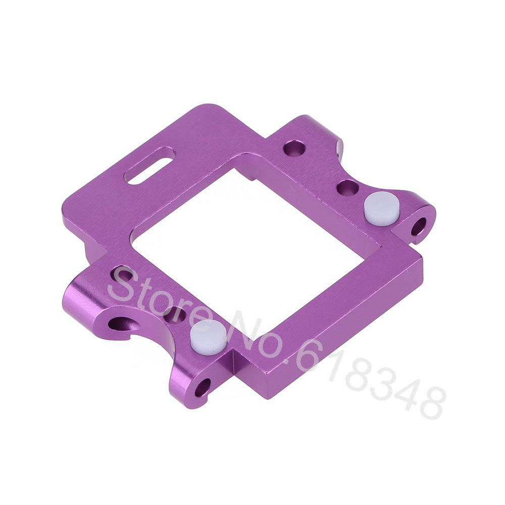 HSP 102061 Aluminum Rear Gear Box Mount Upgrade Parts For 1/10 RC Model Car On Road 94102 1pcs hsp 02023 clutch bell double gears for 1 10 nitro powered on road rc drift car gear upgrade parts