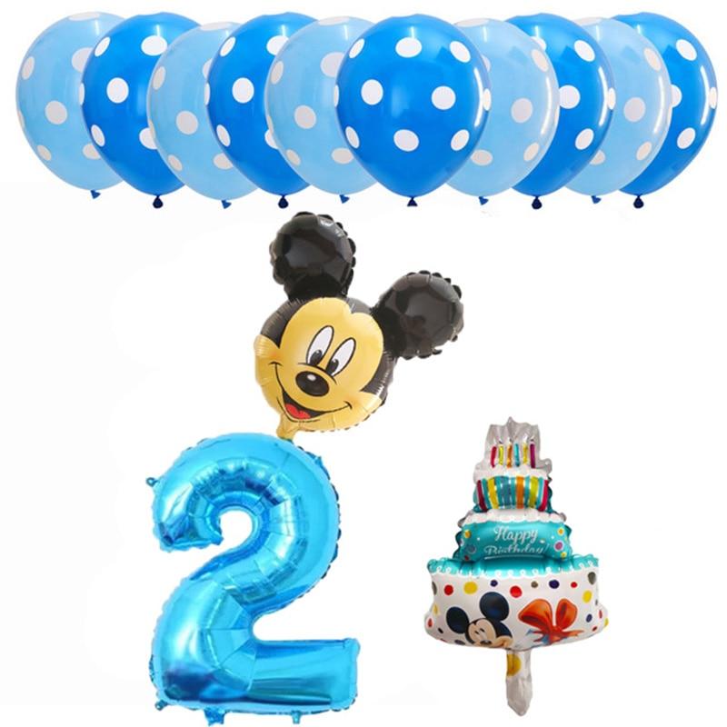 יום הולדת מיקי מאוס מדבקות יצירה מתנות פרסים בלון מספרים להזמנה לייף-דיזיין