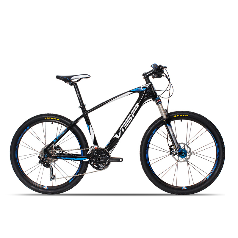 26-inch Carbon Fiber Mountain Bike 30 Speed 33 Speed Professional Racing Mountain Bike Ultra-light Carbon Fiber Frame Off-road B