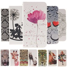 Case for Galaxy S3 Mini Fashion Pattern PU Leather Case For Coque Samsung Galaxy S3 mini S3Mini i8190 Cover Wallet Phone Cases