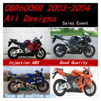 2003 2004 CBR600RR Fairings Body Work Kit For Honda CBR600RR CBR 600RR CBR600 RR 2003 2004 ABS +3 Gift