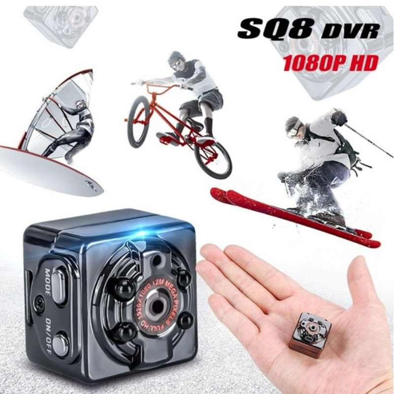 SQ8 Mini HD 1080P DV Camera Car DVR Recorder Dashcam Night Vision Aluminum Digital Video Recorder Motion Detection