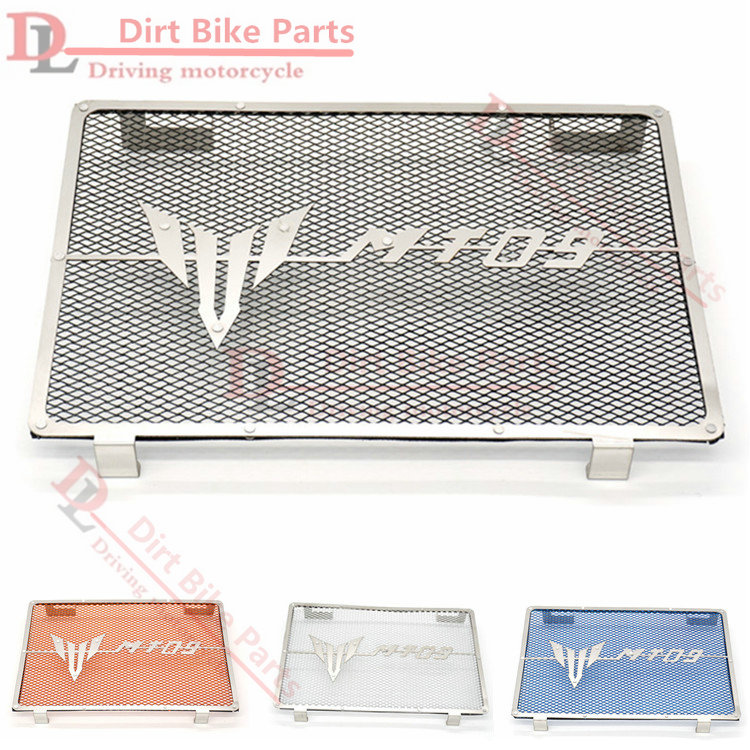 Stainless Steel Motorcycle Matte Black Radiator Guard Radiator Cover Fits For Yamaha Mt09 Tracer Mt-09 FZ09 2014-2017 15 16