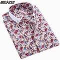 New Fashion Printed Floral Men Shirts Short Sleeve Summer Slim Fit Camisa Masculina Casual Thin Hawaiian Shirt MXB0173