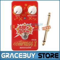 Biyang Baby Boom Series CO 10 Electric Guitar Bass Effect Pedal Compress X Compressor True Bypass