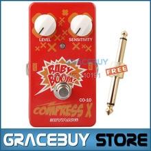Biyang Baby Boom Series CO-10 Electric Guitar Bass Effect Pedal Compress X Compressor True Bypass