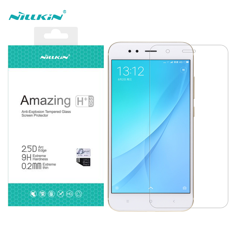 For xiaomi mi 5x screen protector Nillkin Amazing H+PRO Tempered Glass 9h 2.5D ARC For xiaomi mi a1 screen protector 5.5 inch