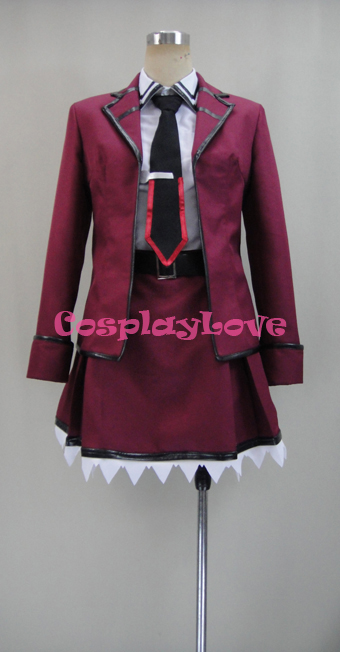 Date A Live Kotori Itsuka Raizen High School Uniform Cosplay Costume