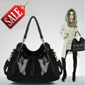 Горячая продажа! 2014 новая мода композитный кожаный мешок/высокое качество дизайн бренда змея плеча кожи сумка/женщины сумка F0-A04