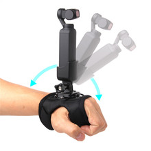 Wrist Band Belt + Adapter Hand Strap Fixed Mount Holder for DJI Osmo Pocket Gimbal Camera Accessories GOPRO