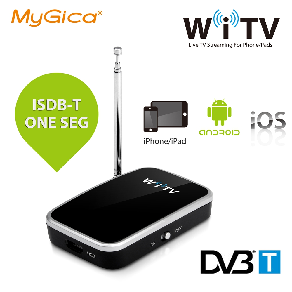 iOS Android TV Tuner Geniatech Mygica WiTV Watch Live Freeview on Smartphones and Tablets for Apple