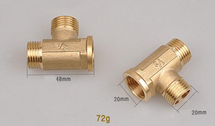 Pcs quot male female tube connectors copper
