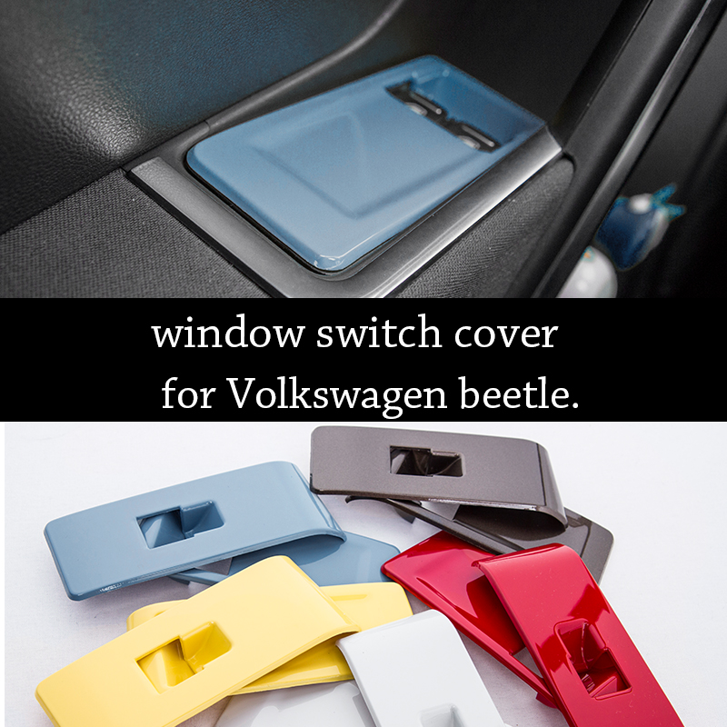 car door window switch panel decorative cover plate trim internal car styling accessories  vw