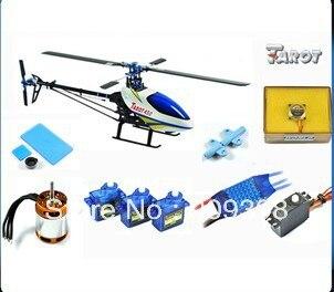 Tarot 450 Spor Helikopter TL20008 + Tarot GY550 Gyro + 40A ESC (Paket 3)Tarot 450 Spor Helikopter TL20008 + Tarot GY550 Gyro + 40A ESC (Paket 3)