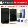 Для ZTE Nubia Z11 mini S ЖК-Дисплей С Сенсорным Экраном + инструменты Замена Высокое Качество Аксессуар Для 5.2 дюймов мобильный телефон
