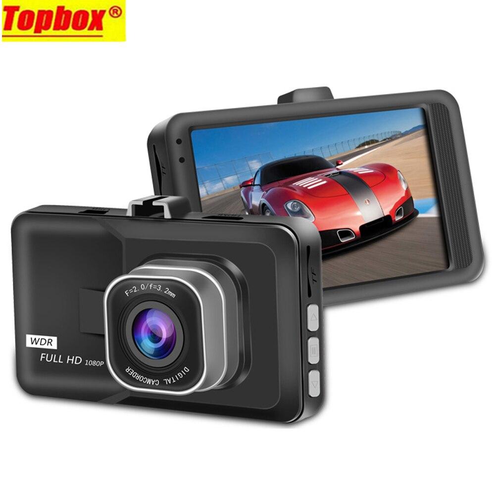 imágenes para Original Del Coche Dvr Full HD 1080 p Cámara de Vídeo Grabadora de 3.0 pulgadas Dashcam Coche Registrator g-sensor Dash Videocámara leva Cuadro Negro