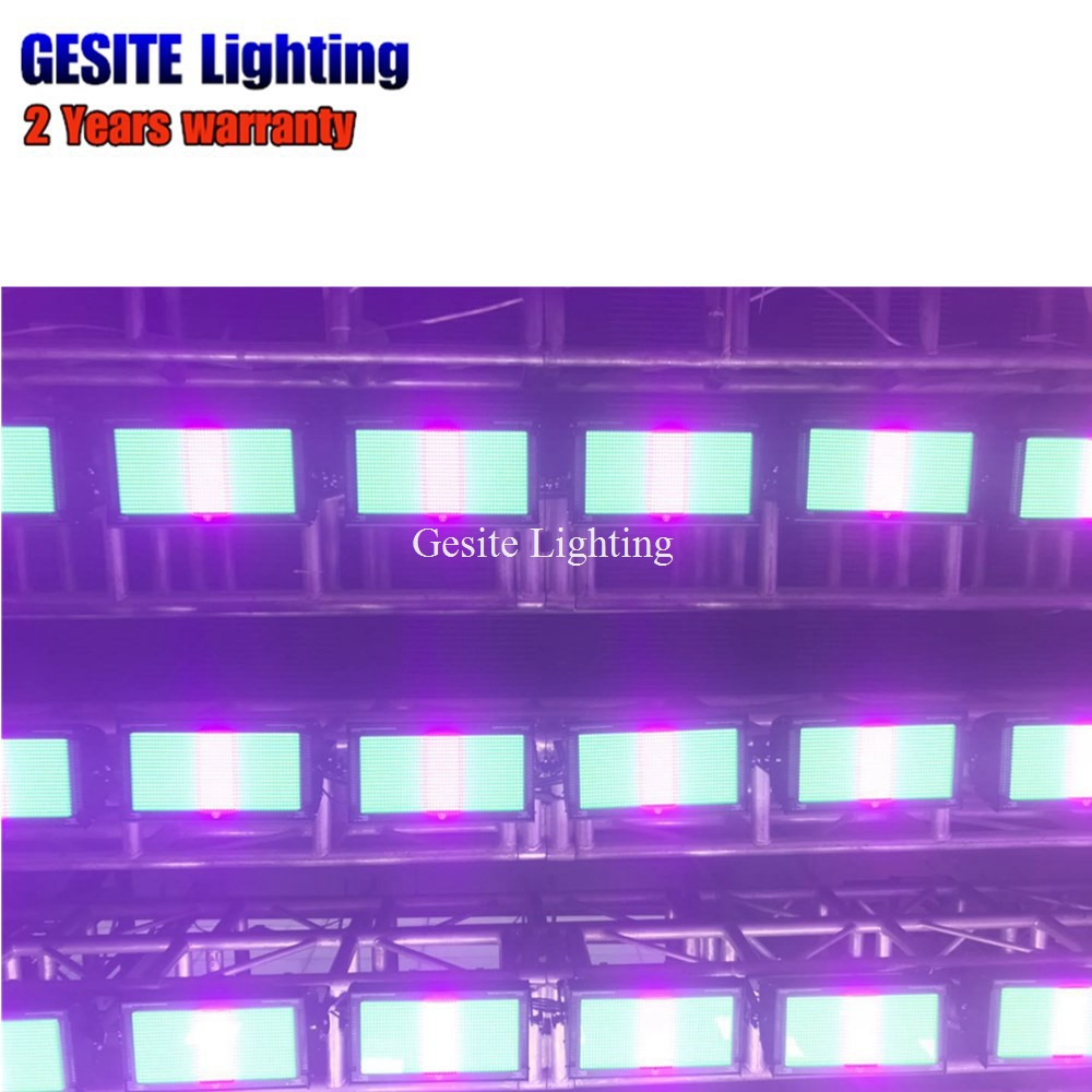 LED Strobe 1000w , Atomic 3000 LED Stage Lighting Pixel effect colorful rainbow