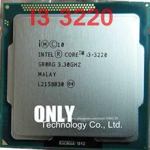 送料無料の Intel Core i3-3220 i3 3220 プロセッサ (3 メートルキャッシュ、 3.30 ghz) LGA1155 デスクトップ CPU