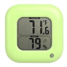Buy Mini desktop digital hygrometer thermometer electronic Indoor Max/Min Room Temperature Meter Humidity Sensor Table LCD Display
