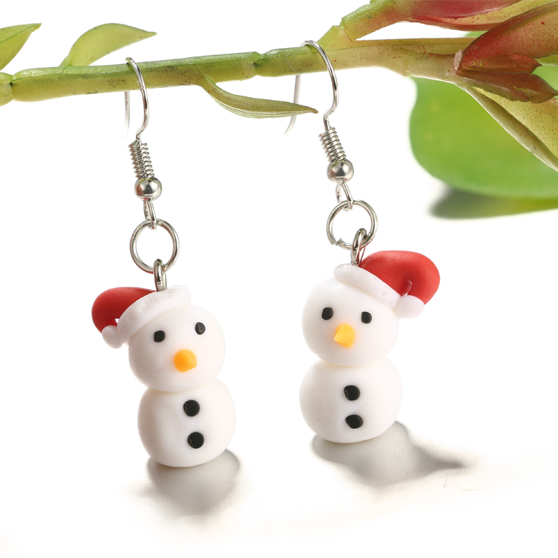 Polymer Clay Christmas Jewelry.Polymer Clay Christmas Earrings