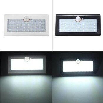 550LM capteur de mouvement étanche 38 lampadaire solaire LED jardin extérieur lampada solaire lampe de jardin applique murale