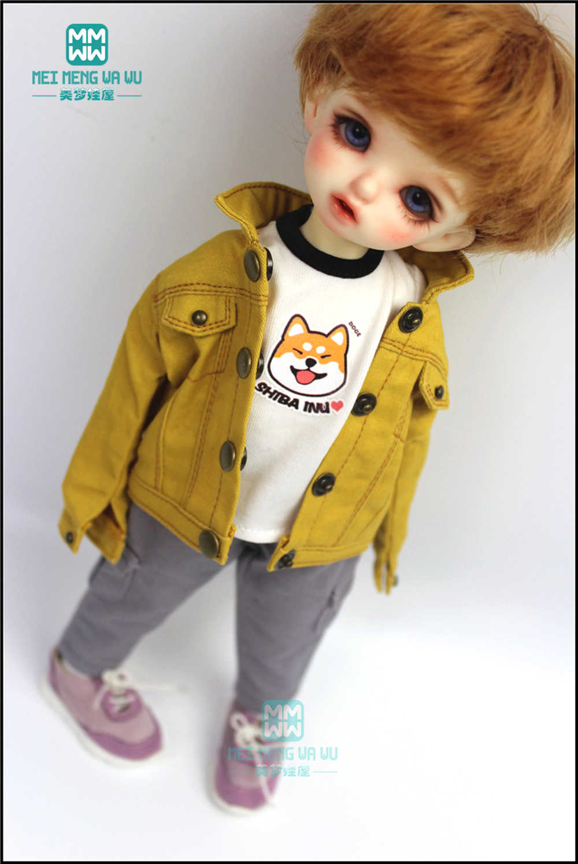 אביזרי BJD בובת בגדי 27 cm-30 cm 1/6 BJD YOSD בובת האופנה ג 'ינס, מכנסיים קצרים