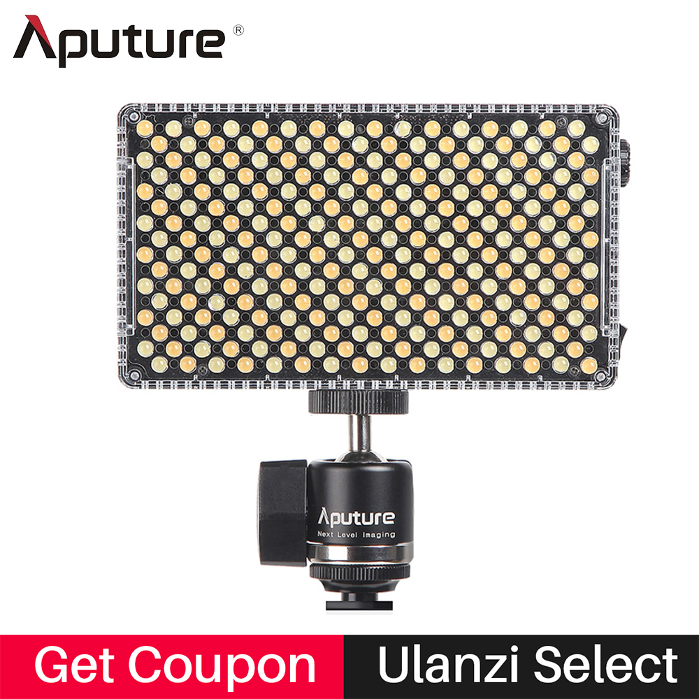 Professional Aputure Amaran AL-F7 Camera Led Panel Video Light CRI/TLCI 95+ 3200-9500K Photo Studio light for Sony DSLR Cameras стоимость