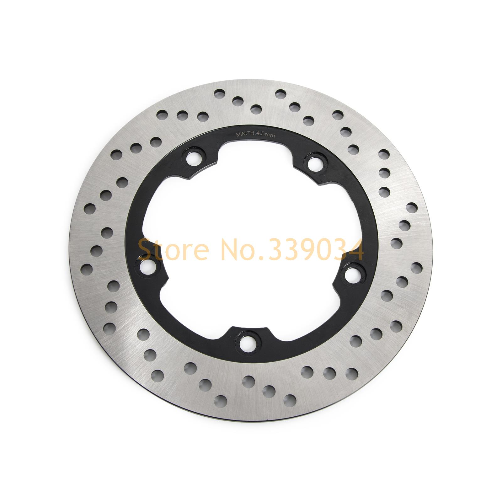 ФОТО New Motorcycle Rear  Rotor Brake Disc For Suzuki Bandit 1200 1250 GSF 650 750  GSR 600 GSX 650 Inazuma 250Z (GW250) 2012-2016