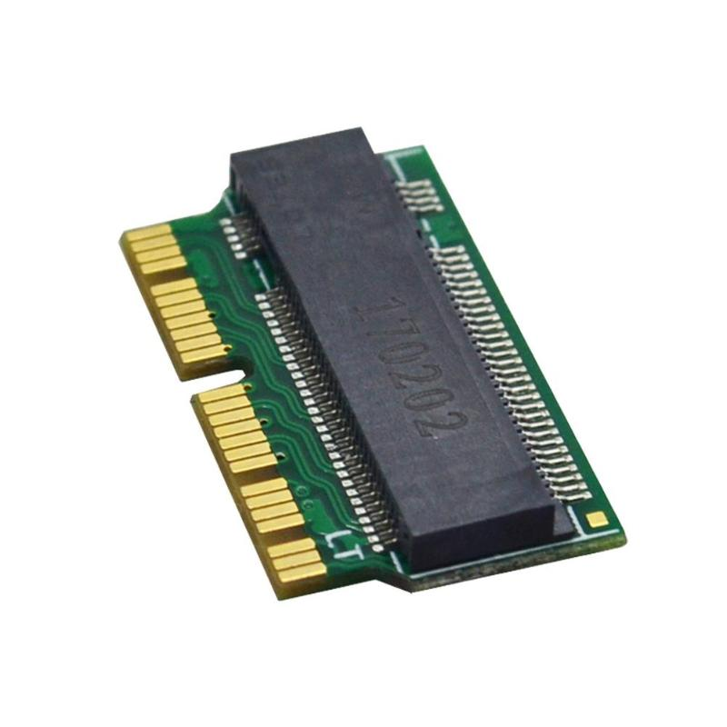 NVMe PCIe M.2 M Key SSD Adapter Card Expansion Card for Macbook Air 2013 2014