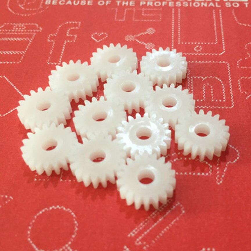 183A Gear 18 Teeth Single Spindle Gear Diameter 10MM 0.5 Modulus 3mm Shaft Hole DIY Pinion Gear Wheels (100pcs/lot)