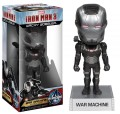 Free Shipping FUNKO Iron Man 3 War Machine Wacky Wobbler Bobble Head PVC Action Figure Collection Toy Doll FKFG062